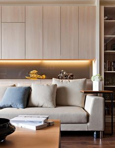 Apartment With A Retractable Interior Wall by Fertility Design | HomeDSGN, a daily source for inspiration and fresh ideas on interior design and home decoration.