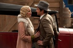 """Serena Shaw Pemberton (Jennifer Lawrence) to George Pemberton (Bradley Cooper): """"Our love began the day we met. Nothing that happened before even exists."""" -- from Serena (2014) directed by Susanne Bier"""