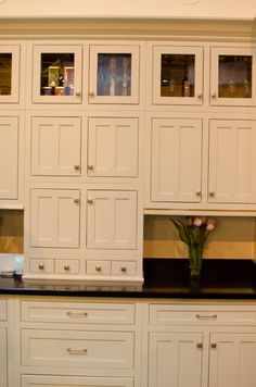 Wall Of Adirondack Wall Cabinets. Great Look For A Kitchen With The Glass  Doors Above. | Kitchen Cabinet Styles | Pinterest