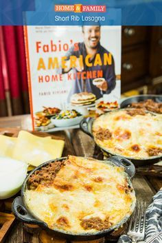 This recipe combines our two favorite things: short ribs and lasagna! Recipe by Chef Fabio Viviani on Home and Family.