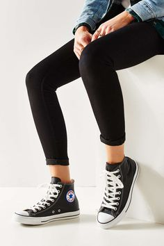 Converse Chuck Taylor All Star Leather High-Top Sneaker