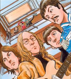 Beatles by Naoki Urasawa