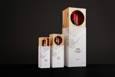 """""""Snøhetta was invited by the wine produces Masi and the distributor Symposium Wines to design a new gift box for the Costasera Amarone."""
