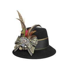 Oktoberfest Die schönsten Dirndl-Styles ❤ liked on Polyvore featuring hats