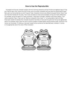 Frog and Toad, Lesson Plans - The Mailbox Reflective Teaching, Frog And Toad, Mailbox, Lesson Plans, Worksheets, How To Plan, Memes, Mail Drop Box, Meme