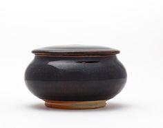 Time & Style Iwami #4 flat top. Transparent Glaze. Small: φ130×H70 TSSG00202