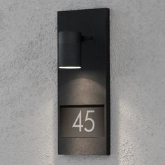 Wandleuchte Hausnummer Beleuchtung Außenleuchte Wandlampe Wand Lampe Leuchten in | eBay!