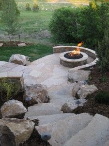 "Find out additional information on ""outdoor fire pit designs"". Look into our internet site. Diy Fire Pit, Fire Pit Backyard, Fire Pits, Outdoor Fire, Outdoor Living, Outdoor Decor, Fire Pit Landscaping, Fire Pit Materials, Fire Pit Furniture"