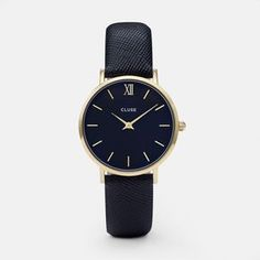 CLUSE Minuit Gold/Midnight Blue CL30014