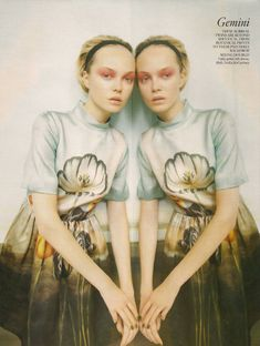Astrology Inspires Fashion, Gorgeousness Ensues #Gemini