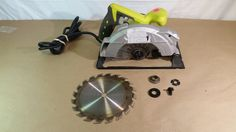 "Ryobi CSB135L 7-1/4"" circular saw with laser 03232017.87 #Ryobi"