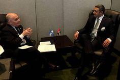 Argentina - Emiratos Árabes Unidos: reunión de cancilleres en Nueva York