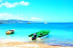 La Bahía de Punta Rucia está protegida por un arrecife de coral, lo más grande y diverso de la República Dominicana, lo que lo convierte en un lugar perfecto para el buceo.