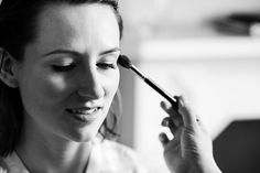 Ana Ospina bridal make over at St Pancras Renaissance Hotel London © Fiona Kelly Photography Wedding Hair And Makeup, Hair Makeup, Makeup Inspiration, Makeup Ideas, Bridal Makeup For Brunettes, Renaissance Hotel, Brunette Makeup, London Hotels, London Wedding