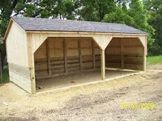 The Cottage Works - Horse and Livestock Shelters Farm Shed, Farm Barn, Small Horse Barns, Carport Sheds, Barn Layout, Chicken Barn, Loafing Shed, Horse Shelter, Greenhouse Shed