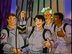 """Due to the success of """"The Real Ghostbusters,"""" """"The Ghostbusters"""" franchise was revived in 1986 as an animated series and actually produced a solid 86 episodes before going off the air in 1988. Description from digital-polyphony.com. I searched for this on bing.com/images"""