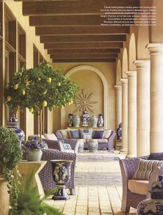 Are you happy Spring is almost here? Are you looking forward to outdoor entertaining? We're sharing Design Ideas for Gracious Outdoor Living Spaces Outdoor Rooms, Outdoor Living, Outdoor Decor, Indoor Outdoor, Gazebos, Mediterranean Style Homes, California Style, California Living, California Decor