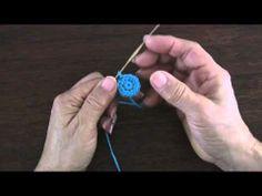Video de como forrar botones con la técnica del crochet