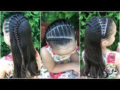 Cute Little Girl Hairstyles, Little Girl Braids, Girls Braids, Latest Hairstyles, Braided Hairstyles, Hair Express, Picture Day Hair, Divas, Girl Hair Dos