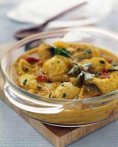 Curry de poissons facile pour 4 personnes - Recettes Elle à Table