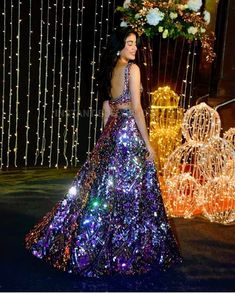 Jhanvi Kapoor Dazzles Bright In Manish Malhotra At Priyanka And Nick's Reception - HungryBoo Call/ WhatsApp for Purchase inqury : Bride Reception Dresses, Wedding Dresses For Girls, Indian Wedding Outfits, Bridal Outfits, Indian Outfits, Bridal Dresses, Wedding Reception, Indian Fashion Dresses, Indian Designer Outfits