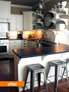 Before & After: Breakfast Gets Brighter In Jonathan's New Kitchen