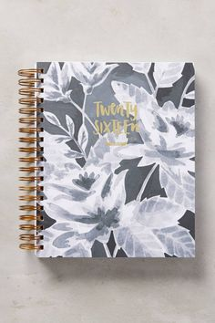 Wise Words Planner by 1Canoe2 #anthrofave #anthropologie