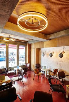 Bar Basquiat in Amsterdam by Studio Modijefsky | http://www.yellowtrace.com.au/bar-basquiat-in-amsterdam-by-studio-modijefsky/