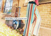 Gnar Hoops & Happy Wallet Clothing   Perfect Pick Custom Nepalese Palazzos Lovely, sensational, high-quality, traditional, true fabric from Nepal  Five delightful fabrics to select from Custom Fit to You  Measurements and details required: Inseam; crotch to floor Butt Width; all the way around your butt waist Mid Crotch to Desired Waist Spot; determines rise of pants Height and Weight Horizontal or Vertical running stripes