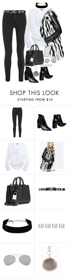 """""""Untitled #1602"""" by samikayy76 ❤ liked on Polyvore featuring Acne Studios, Carlo Pazolini, Maiyet, Story of Lola, Yves Saint Laurent, Maison Margiela, NLY Accessories, women's clothing, women and female"""
