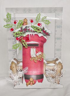 Polka Doodles Paper Boutique III CD - Creative Christmas Blog: Lulu and Cardmaking.