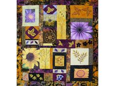 Mixed Media Quilt  Fiber Art  Patchwork by thebutterflyquilter, $375.00