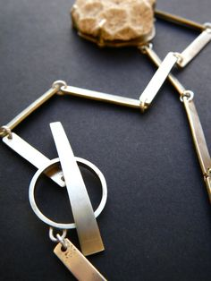 handmade chain...even the jump rings... phew  impressive! maybe I'll get this good one day ...