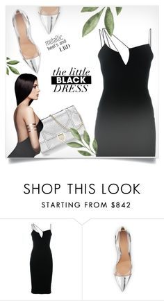 """LBD"" by ellma94 ❤ liked on Polyvore featuring Victoria Beckham, Gianvito Rossi and LBD"