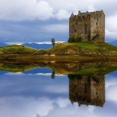 Island Castle  Loch Laich, Scotland
