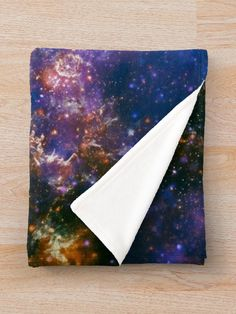 """""""Galaxy"""" Throw Blanket by ind3finite 