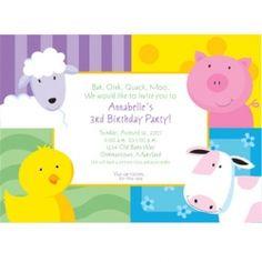 Farm Animal or Barnyard Baby Shower#module27675722