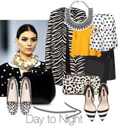 """""""Day to Night"""" by fiftyfabulous on Polyvore"""