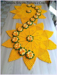 Knitdo - Beginners DIY Craft for Crochet - Knitting and Embroidery Crochet Home, Love Crochet, Irish Crochet, Crochet Motif, Beautiful Crochet, Crochet Designs, Crochet Crafts, Crochet Doilies, Crochet Flowers