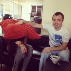 It's better not to interrupt Sasha!)) - Co-workers #Coworkers #FamilyAndFriends #GetWeHeartPics