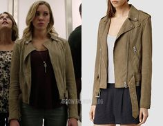 "Laurel wears AllSaints in 4×04 ""Beyond Redemption"""