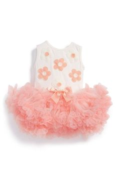 Popatu 'Daisy' Tulle Dress (Baby Girls) available at #Nordstrom