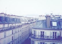 Paris rooftops by Jenny J. Norris