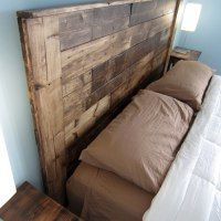 http://hnydt.co/2012/08/04/build-a-king-sized-pallet-headboard/