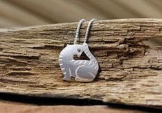 Handmade Silver Tiger Pendant, Silver 990 Lovely Tiger Pendant, Teenage, Valentine, Anniversary, Birthday, Christmas, Special Occasions Gift