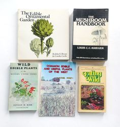 Lot of 1970's Foraging/Edible Plants Books:  by Wary Meyers