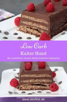 Kalter Hund Low Carb Today there is a recipe for a quick low carb cake. Does your cold dog know? Or Lukullus or Cold Hedgehog? The sugar-free version of the classic also tastes good and more. An ideal, sugar-free dessert for all chocolate fans. Low Carb Torte, Low Carb Cakes, Law Carb, Oreo Dessert, Le Diner, Sugar Free Desserts, Evening Meals, Food Cakes, Healthy Drinks
