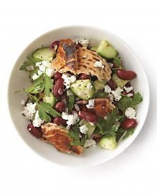 Bread Salad with Feta - Whole Living Eat Well