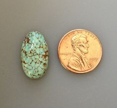 Godber Turquoise Cabochon Natural 10.0 Carat by TimelessTurquoise