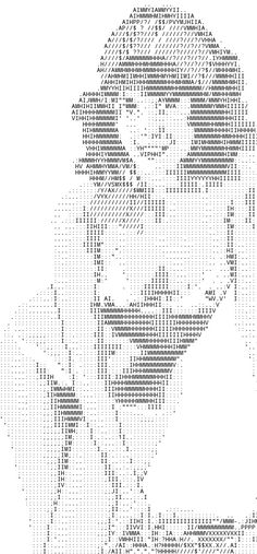 Single Line Ascii Art Cat : Mr bean ascii art pinterest